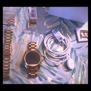 Michael Kors Bradshaw Smart Watch Gold & Rose Gold